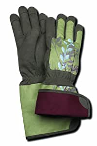 Magid te296t m terra collection rose gloves for Gardening gloves amazon