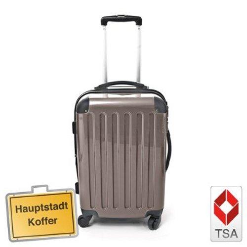 Hartschalen Koffer Titan Hochglanz max.130 L