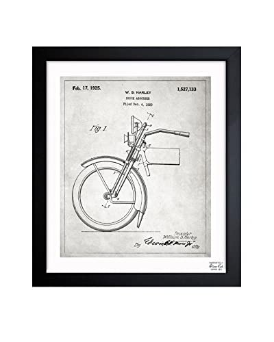 "Oliver Gal ""Harley Shock Absorber 1925"" Framed Art"