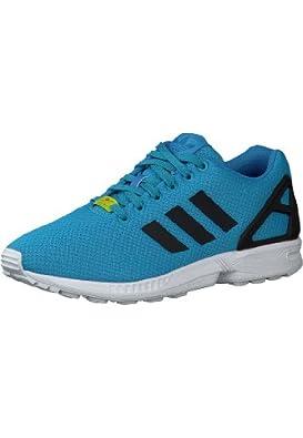 adidas Originals Damen Sneaker ZX FLUX 38 2/3, SOLBLU/SOLBLU/ELECTR