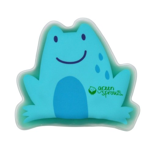 green sprouts Cool Calm Press, Blue Frog