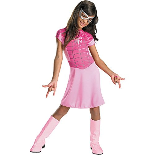 Women of Marvel Pink Spider-Girl Costume Spider Girl Dress Spidergirl Girls Med