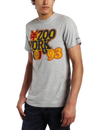 Zoo York Men's Land Of Pop T-Shirt, Heather Grey, X-Large