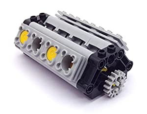 Lego Technic V8 Working Engine (56 pieces)