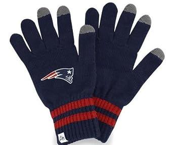 NFL New England Patriots Men's Team Player Touch Glove, Light Navy