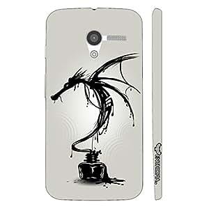 Motorola Moto X Dragon Ink designer mobile hard shell case by Enthopia