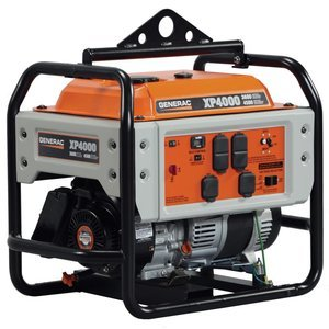 Generac Power Systems 5929 Professional Series Portable Generator With Electric Start, 4000-Watt
