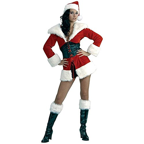 Sexy santas cutie womens christmas costume