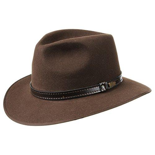 the-outback-opal-cappello-akubra-cappello-di-feltro-cappello-australiano-59-cm-marrone