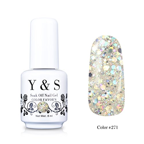 Yaoshun-Gelpolish-Soak-off-Gel-Nail-Polish-UV-LED-Nail-ArtBeauty-Care-8ml-271