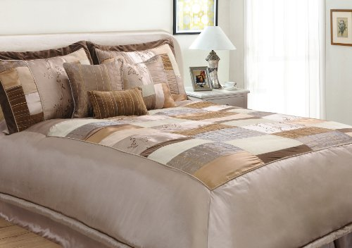 Epoch Hometex, Inc Florence Queen Bed Set, Natural front-724478