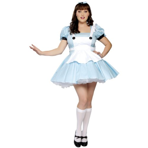Alice in Wonderland Costume - X-Large - Dress Size 10-12