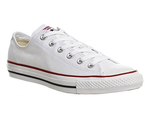Converse - All Star Ox, Sneakers, unisex, bianco (weiß), 37