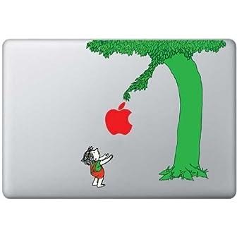 MacBook 対応 アートステッカー☆ - Color Giving Tree - (13インチ用) 【並行輸入品】