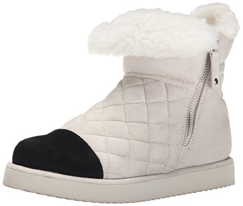 Madden Girl Women's Downwind Winter Boot, Winter White, 7.5