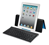 Logitech - Tablet Keyboard - Clavier Pour Ipad - Azerty - Noir from Logitech