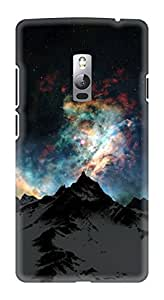 Generic Hard Printed Back Cover for Oneplus 2 (Multicolor)