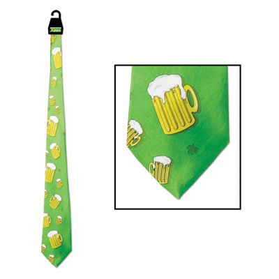Beer Mug Tie Party Accessory (1 count) (1/Pkg)