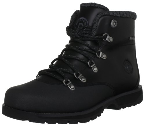 Rockport Mens Peakview Waterproof Plain Toe Snow Boots K62835 Black 10.5 UK, 45 EU