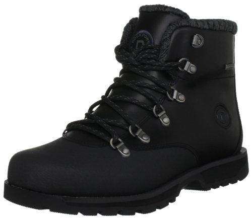 Rockport Mens Peakview Waterproof Plain Toe Snow Boots K62835 Black 10 UK, 44.5 EU