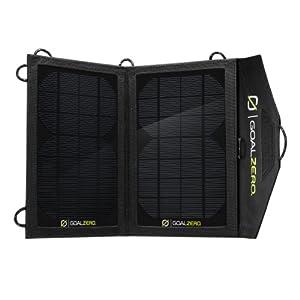 GOAL ZERO ポータブルソーラー発電機 NOMAD 7 太陽光でソーラー充電