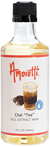 Amoretti Chai Tea Extract, 4 Ounce