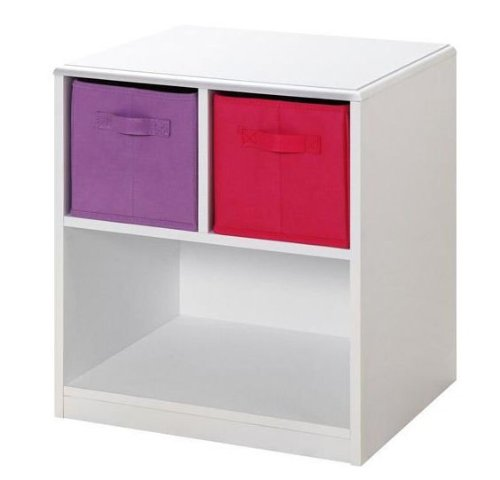 4D Concepts 4D Concepts Girls 2 Drawer Nightstand -, Beech, Composite Board front-537409