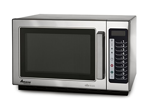 Amana Rcs10Ts 1000 Watt 5 Power Level Commercial Microwave Oven