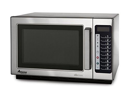 Amana Rcs10Ts 1000 Watt 5 Power Level Commercial Microwave Oven