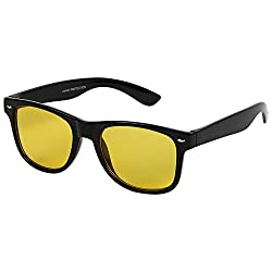 Eccellente Wayfarer UV Protected Sunglasses - Night Vision