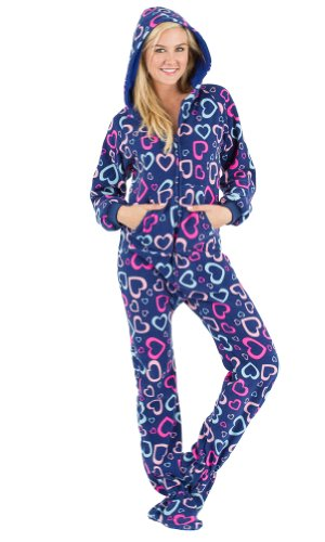 Footed Pajamas Adults
