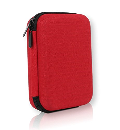 First Aid Kit – 126 Pieces – Soft Shell Case – Packed with hospital grade medical supplies for emergency and survival situations. Ideal for Car, Camping, Travel, Office, Sports, Home