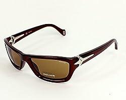 Police Rectangle Brown Sunglasses Police-S1708-0Z90-57