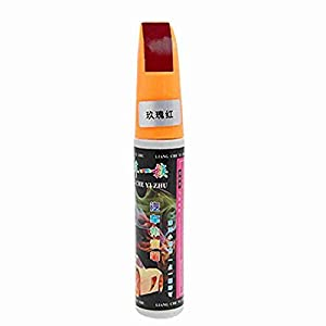 Move&Moving(TM) 12ml Rose Red Scratches Repair Touch up Paint Pen for Vehicle Car from Move&Moving