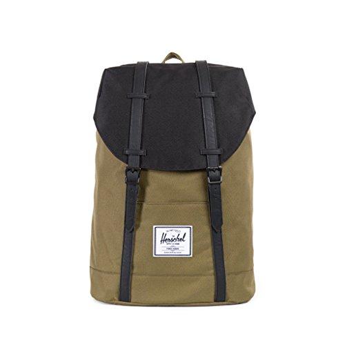 HERSCHEL SUPPLY ハーシェルサプライ Retreat Backpack (ARMY/BLACK) リュック バッグ バックパック リュックサック メンズ レディース