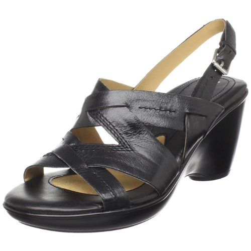 Naturalizer Women's Keaton Sandal,Black,7.5 N US
