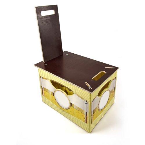 Bierkasten Sitzauflage: Der mobile Stuhl - Biertrend.de