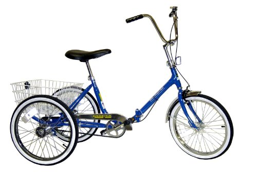 Worksman Port-o-Trike Single Speed Adult Tricycle