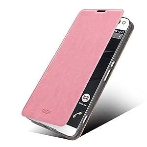 MOFI Rui Series Leather Stand Case Flip Cover for Sony Xperia C5 Ultra E5553/ Ultra Dual E5533 - Pink