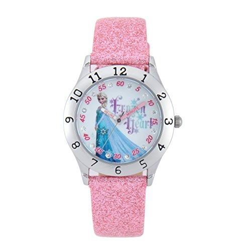 disney-w001811-reine-des-neiges-montre-fille-quartz-analogique-cadran-blanc-bracelet-aspect-paillete