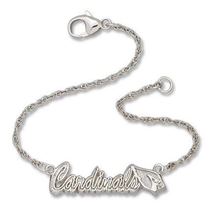 Arizona Cardinals NFL Sterling Silver Script Bracelet
