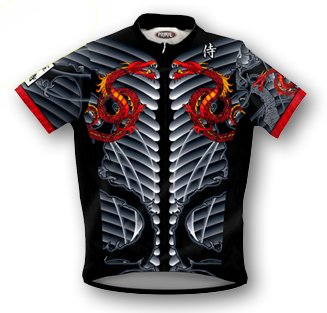 Image of Primal Wear Samurai Dragon Cycling Jersey (B00183YQFI)