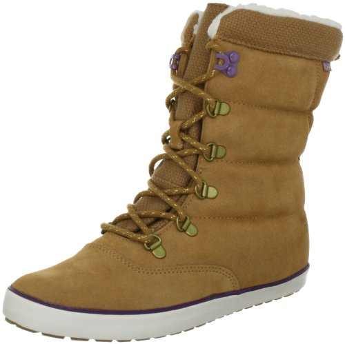Keds Cream Puff Leather Boot tan Ankle Boots Womens Brown Braun (tan) Size: 6 (39 EU)