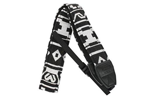 Aestar Vintage Universal Durable Colorful Soft Camera Neck / Shoulder Strap Cotton Yard For Digital Slr Camera - Black/White
