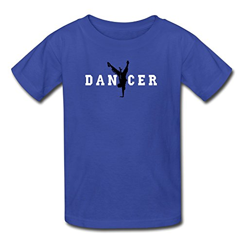 [Sunflower Youth Tees Classic Dancer With Love Arter Hip Hop Mixed RoyalBlue SizeS] (Assassins Creed Unity Costume Customization)