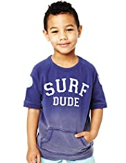 Pure Cotton Surf Dude Sweat Top