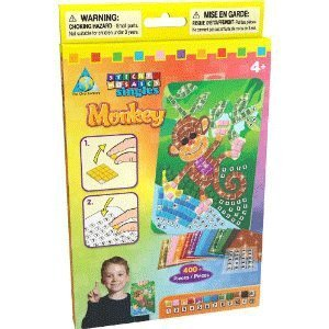 The Orb Factory Sticky Mosaics Sticky Mosaics Singles Monkey - 1