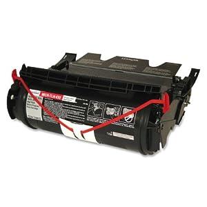 MicroMICR MICR-TLN-630 MICR Toner Cartridge for Lexmark T630 T632, and T634 Printers, Black