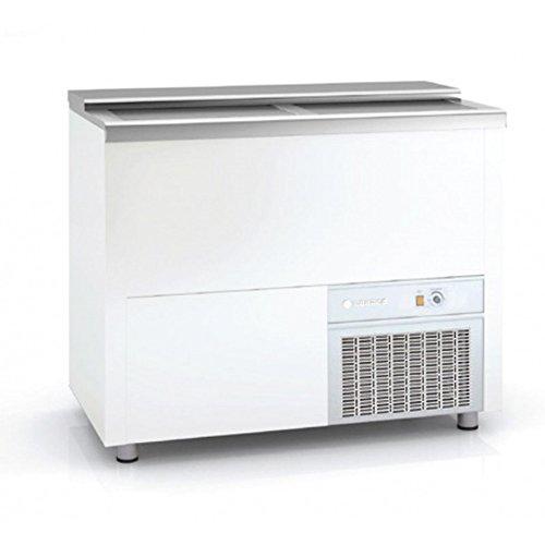 Refroidisseur à bouteilles et cannettes Extérieur tôle plastifiée (standard blanc) L1010 x P550 x H850 mm -CORECO