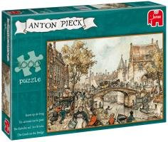 Imagen principal de Jumbo 17066 - Puzzle de 1000 piezas, diseño de El puente de Anton Pieck
